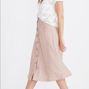 Madewell Patio Midi Skirt